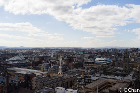 View From Livingstone Tower Roof 1