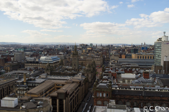 View From Livingstone Tower Roof 2